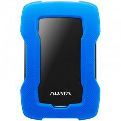 """Disque Dur Externe Anti-Choc ADATA HD330 1To 2.5"""" USB 3.1 - Bleu"""