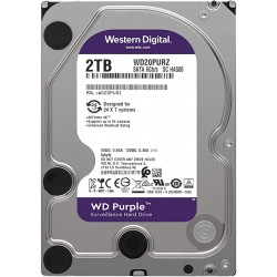 "DISQUE DUR INTERNE DE SURVEILLANCE WESTERN DIGITAL 2TO 3.5"" - WD20PURZ - 2TB"