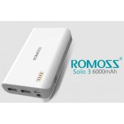POWER BANK ROMOSS SOLO3 / 6000 MAH